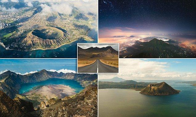 أفضل و أجمل المناظر الطبيعية البركانية في العالم