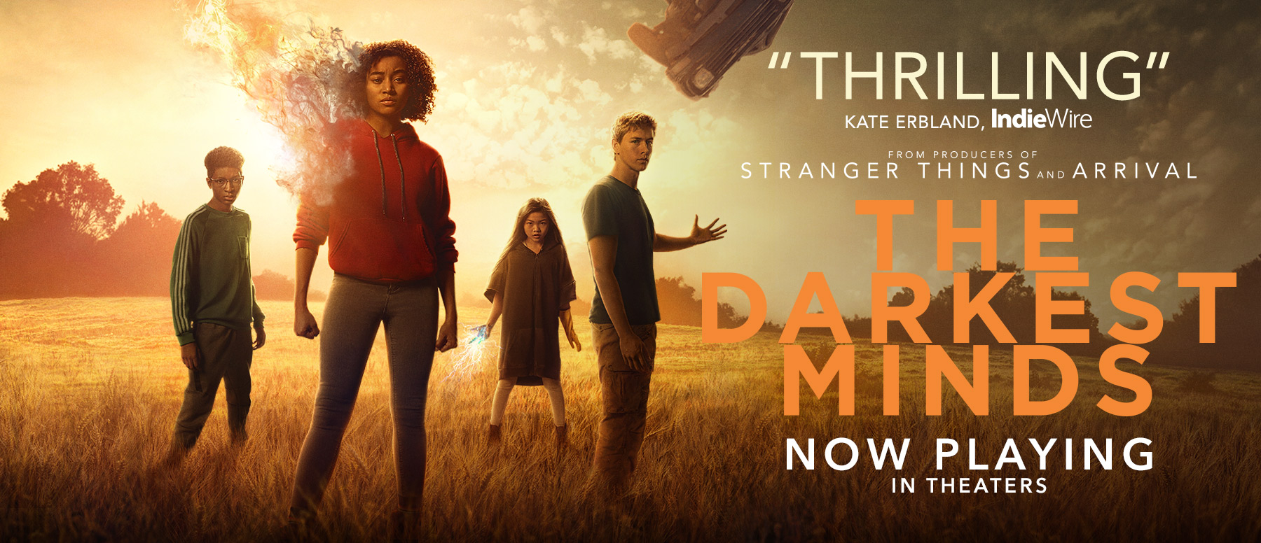 فيلم THE DARKEST MINDS
