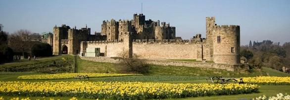 قلعة ألنويك , الريف الإنجليزي