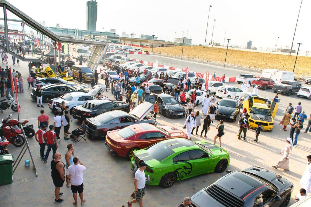 الدورة الثالثة من معرض الإمارات لرياضة المحركات