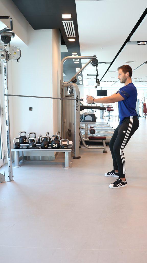 استخدام حبال المقاومة في التمرينات الرياضية