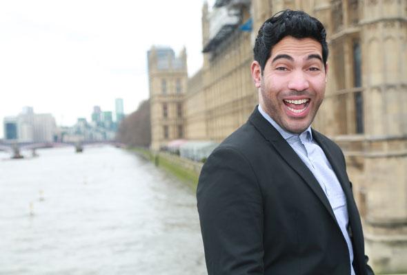"""برنامج الكوميديا """"Arab Are Not Funny"""""""