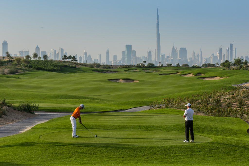 انتهاء الأعمال الإنشائية في ملعب نادي دبي هيلز للجولف