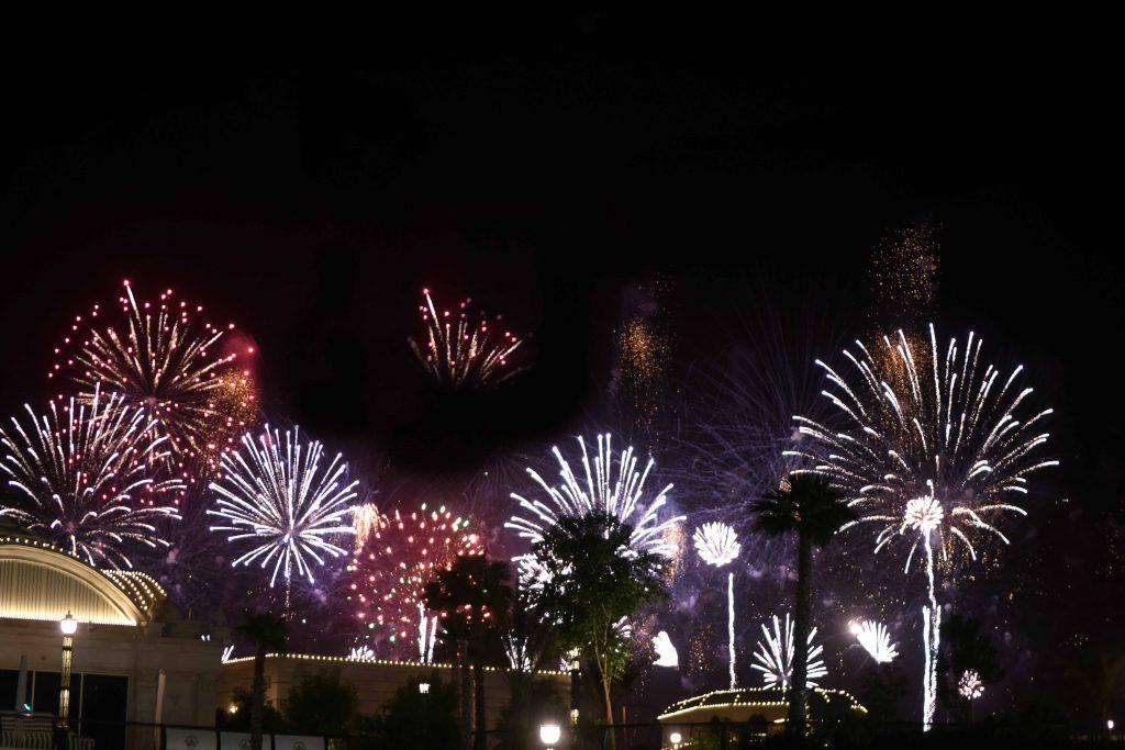 احتفالات دبي باليوم الوطني السعودي