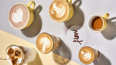 صورة احتفالية مطعم فلو باليوم العالمي للقهوة