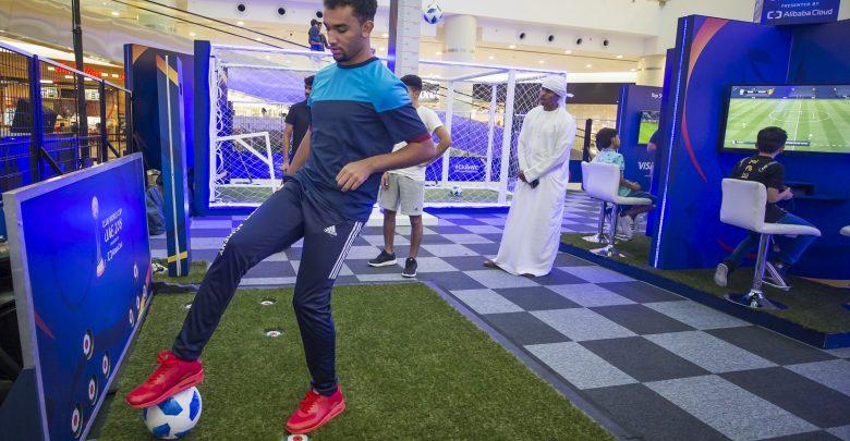 تحدي البطل في ياس مول أبوظبي