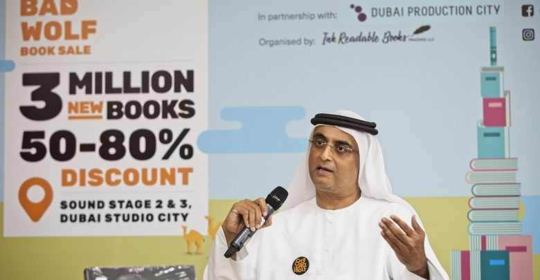 لأول مرة في دبي معرض الكتب بيج باد وولف
