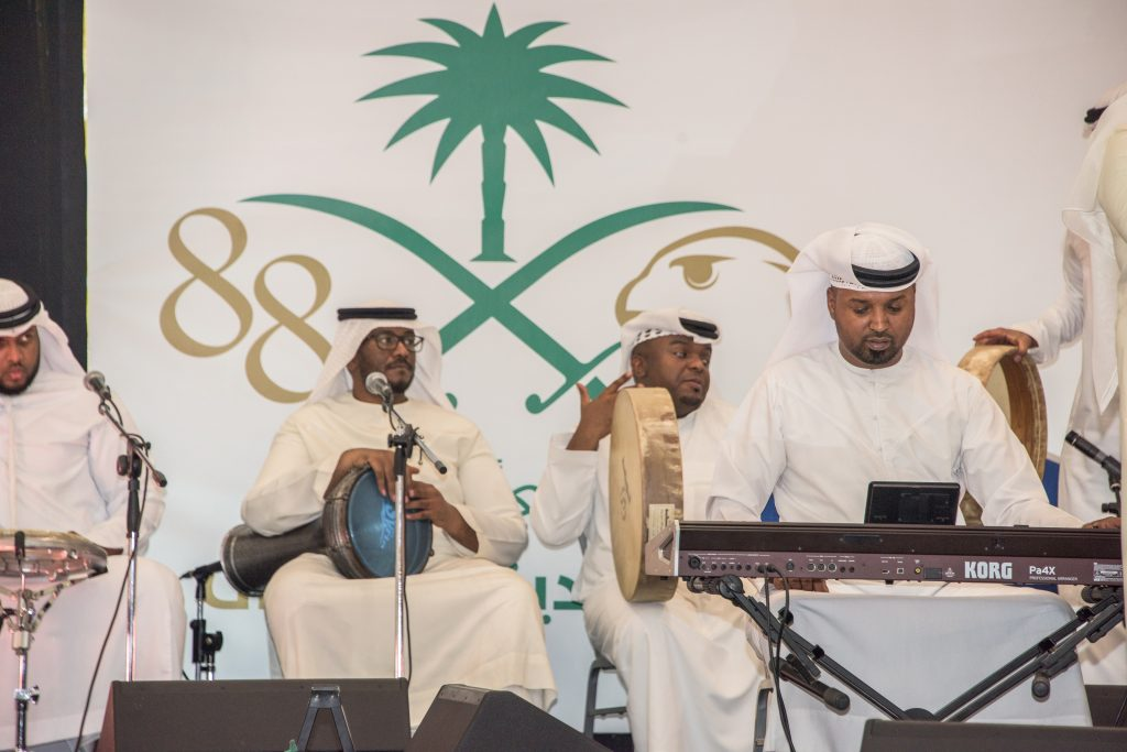 احتفالية مارينا مول أبوظبي باليوم الوطني السعودي