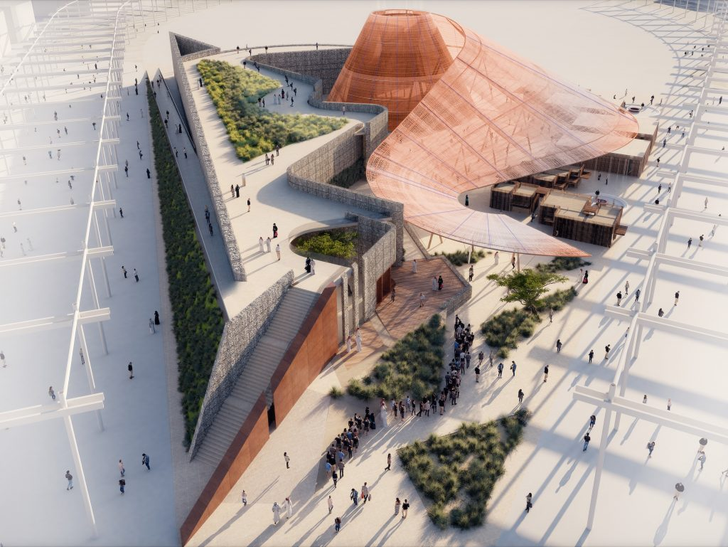 التصميم التفاعلي لجناح الفرص في إكسبو 2020 دبي