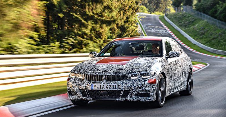 اختبار التحمّل لسيارة BMW الفئة الثالثة الجديدة سيدان