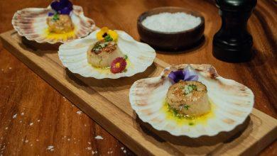 صورة المأكولات البحرية والنباتية من مطعم جونايدن