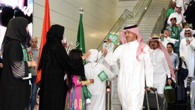 صورة احتفالات دبي باليوم الوطني السعودي