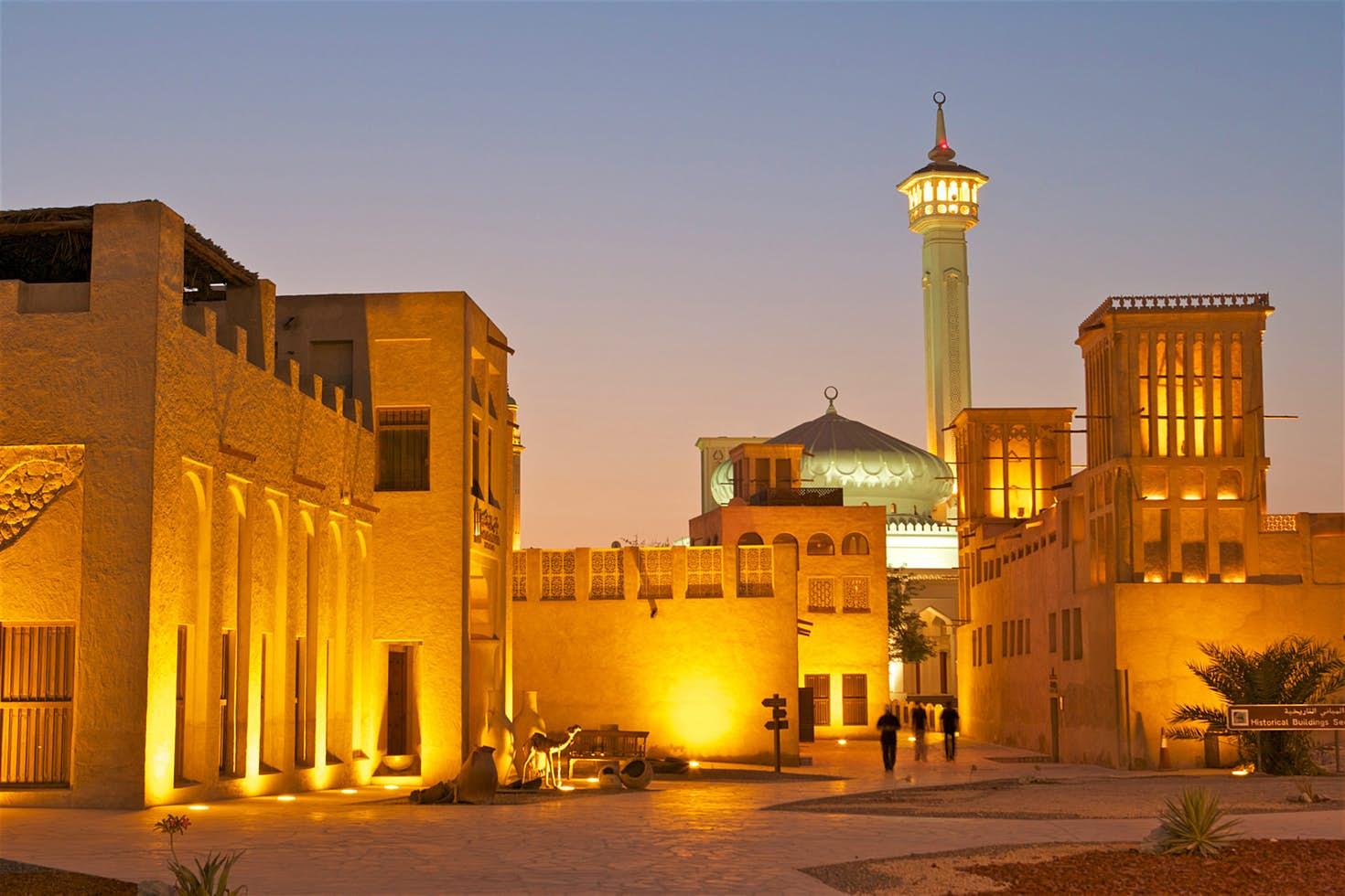 دبي القديمة