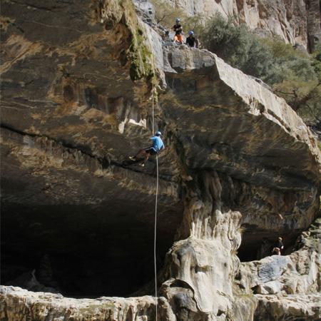 تسلق الصخور في سلطنة عمان