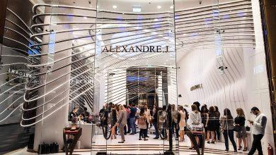 Photo of افتتاح بوتيك ألكسندر جي في دبي سيتي ووك
