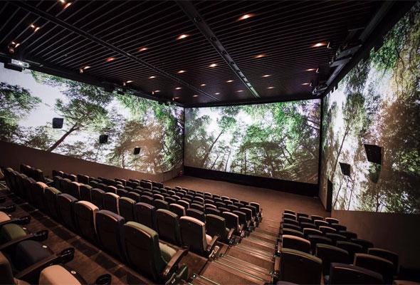 ريل سينما في دبي مول