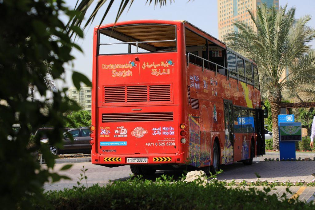 حافلات جولة سياحية في الشارقة