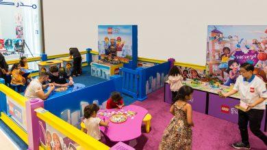 ورش عمل مكعبات LEGO في سيتي سنتر عجمان