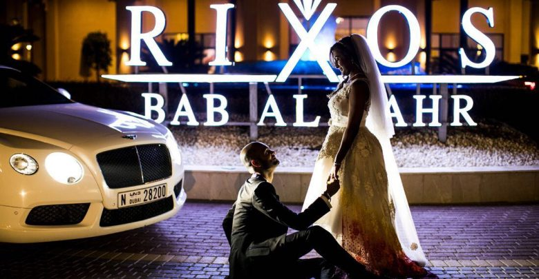 خيارات حفلات الزفاف من منتجع ريكسوس باب البحر