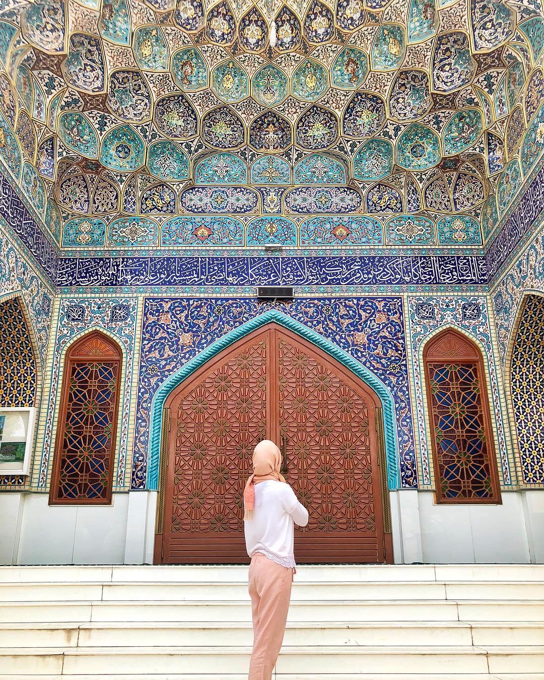 المسجد الإيراني ، بر دبي