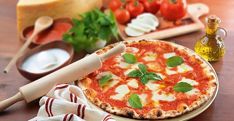 عرض بيتزا المارغريتا من مطعم 800 بيتزا