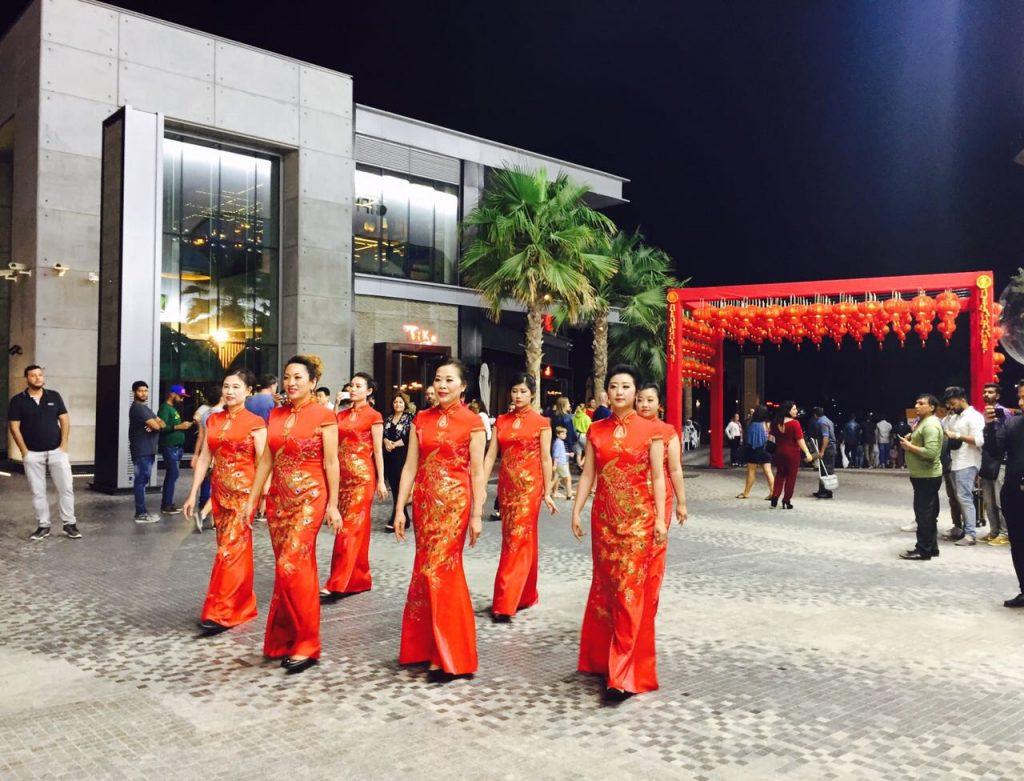 احتفالات الأسبوع الذهبي للصين في وجهات مراس