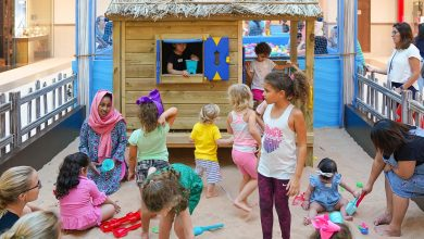 Photo of حفلات شاطئية للصغار في سوق الينابيع
