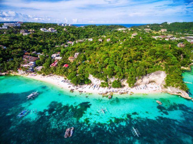 جزيرة بوراكاي Boracay Island