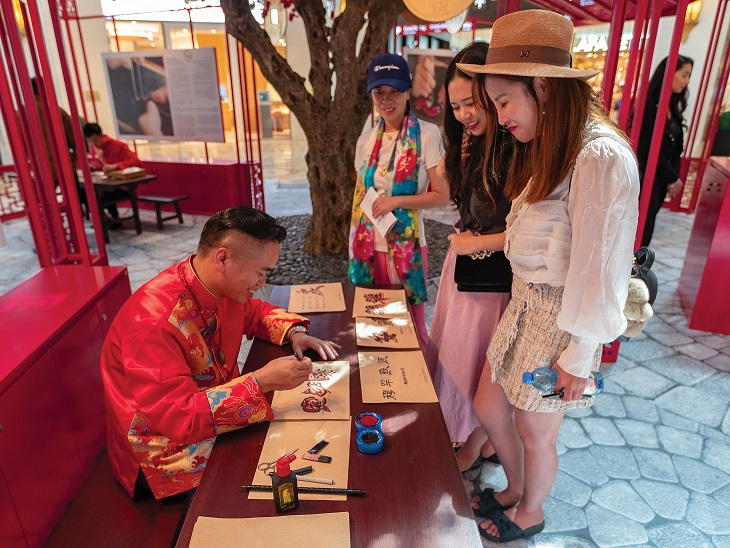 احتفالية الأسبوع الصيني الذهبي في دبي مول