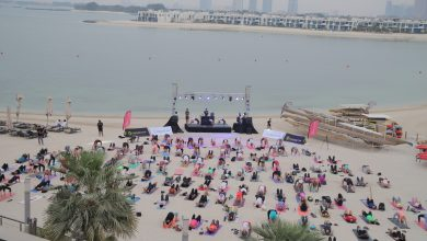 Photo of فعالية كور بيتس خلال تحدي دبي للياقة 2018
