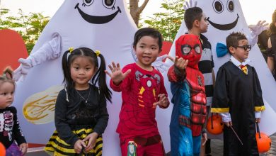 Photo of احتفالية الهالوين العائلية من ريفرلاند دبي
