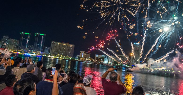 فعاليات مهرجان الأضواء الهندي ديوالي في دبي