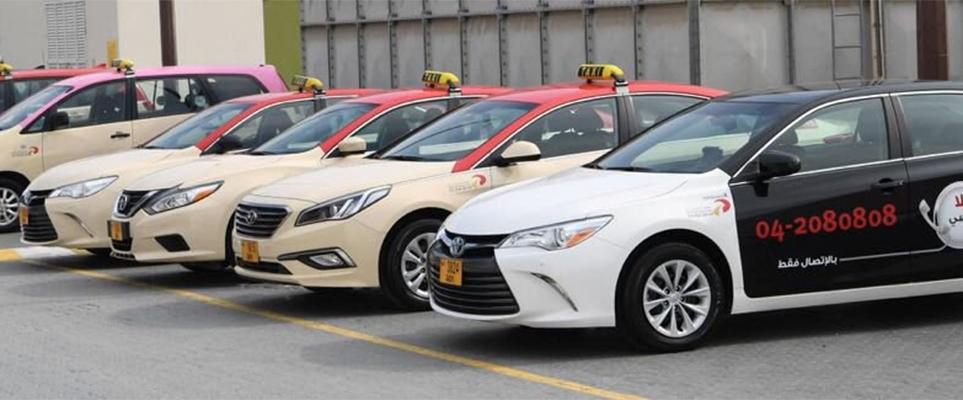 خدمة الواي فاي المجانية في 10000 سيارة أجرة في دبي