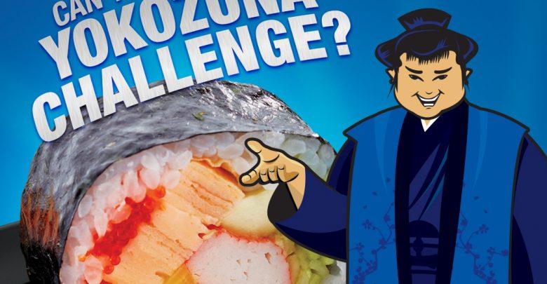 تحدي يوكوزونا من مطعم سومو سوشي آند بينتو
