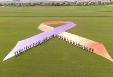 أكبر شريط توعية بالعالم في دبي للتوعية من الصدفية