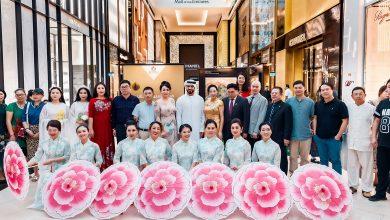 Photo of معرض فن من القلب في مول الإمارات