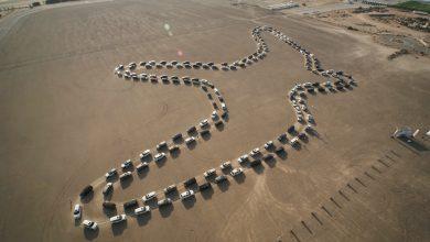 Photo of أكبر موكب رقص متزامن بالسيارات في دبي يدخل موسوعة غينيس
