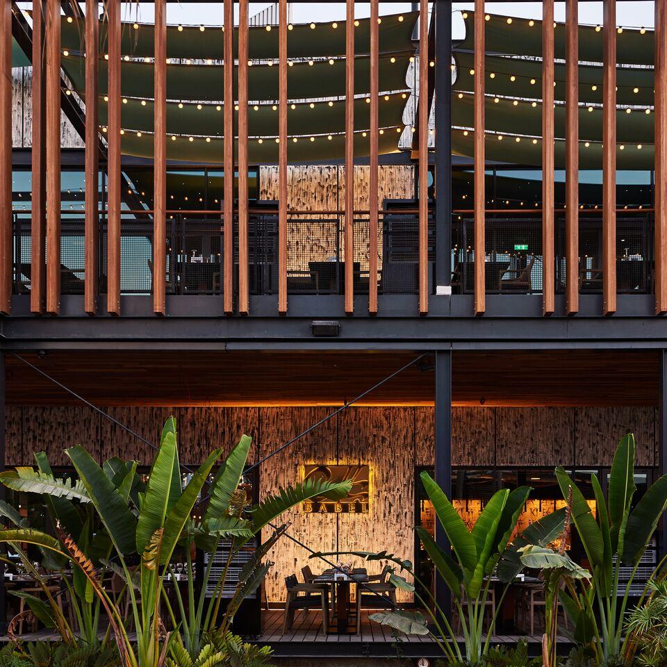 مطعم بابل في لا مير