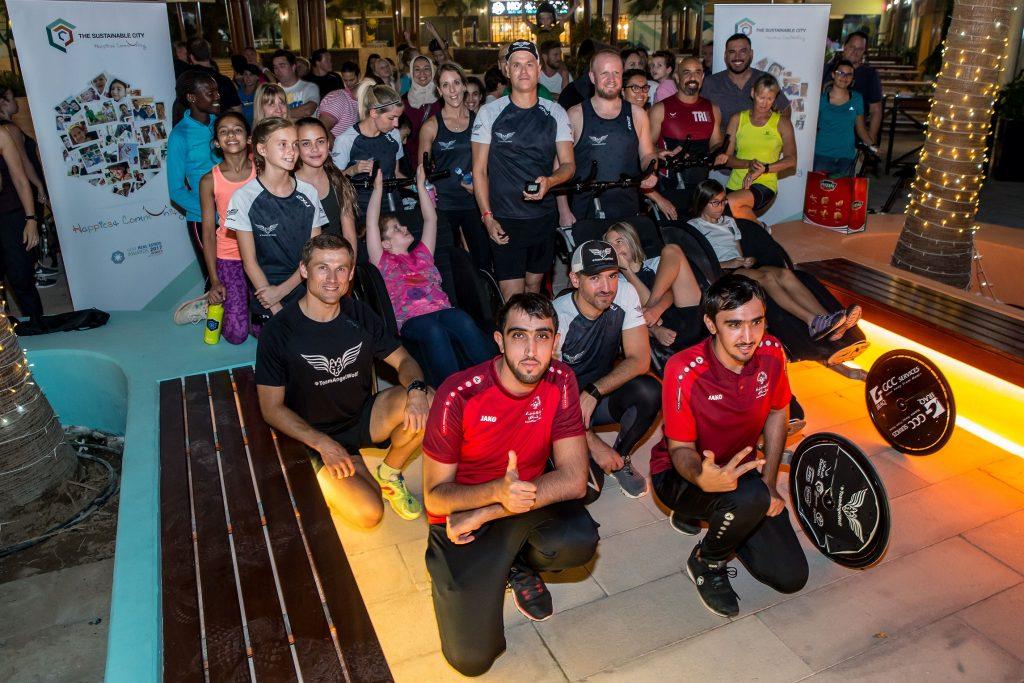فعاليات المدينة المستدامة خلال تحدي دبي للياقة 2018