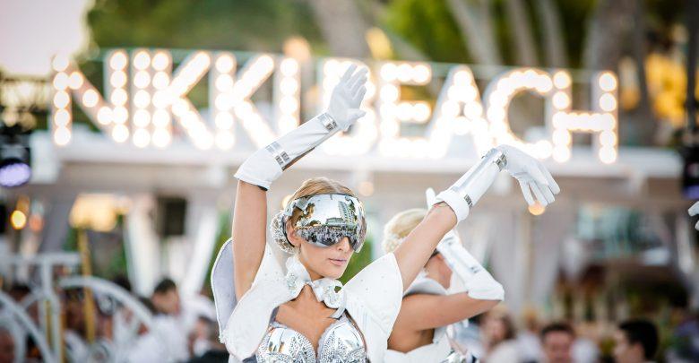 الحفلة البيضاء في منتجع نيكي بيتش دبي