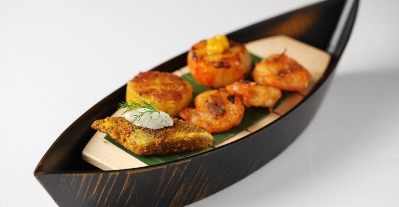 مأكولات الساحل الجنوبي الغربي للهند من مطعم كويلون