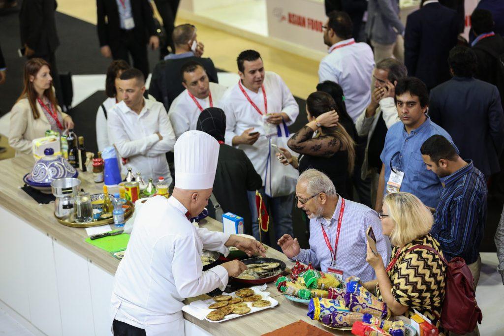 فعاليات الدورة التاسعة من مهرجان المأكولات المتخصصة