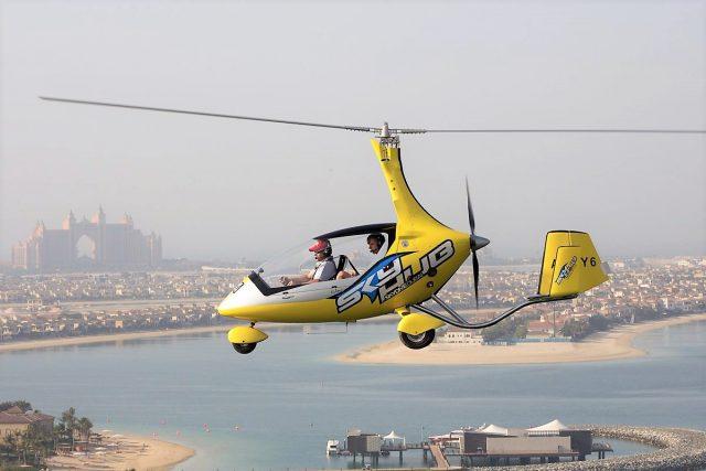 تجربة Skyhub Gyrocopter