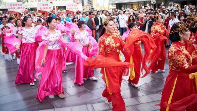 صورة احتفالات الأسبوع الذهبي للصين في وجهات مراس