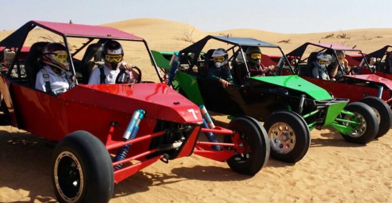 قيادة عربة الكثبان الرملية Drive a Dune Buggy