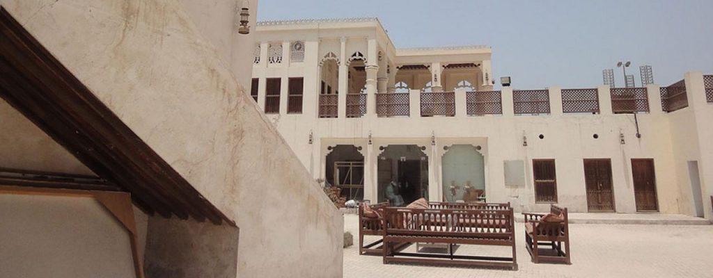 بيت الشامسي بمنطقة الفنون.