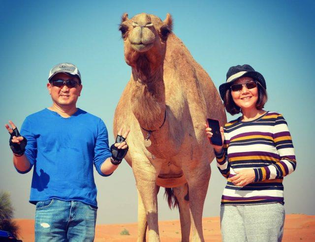 صور تذكارية مع الجمل Camel selfie