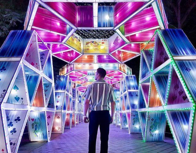 حديقة دبي المتوهج Dubai Garden Glow
