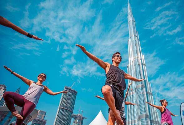 تحدي دبي للياقة Dubai Fitness Challenge