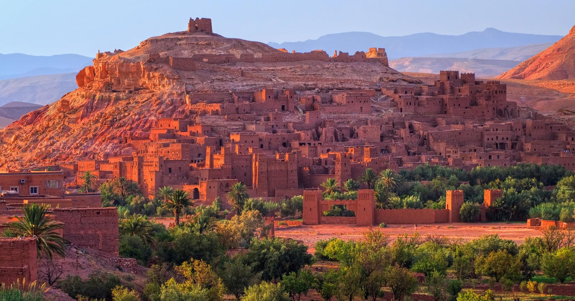 آيت بن حدو – المغرب